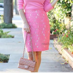 H&M conscious collection lace pencil skirt